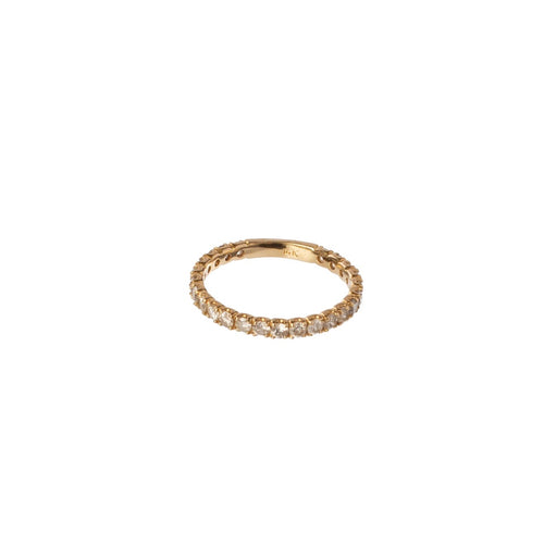 Thick Gold Diamond Band