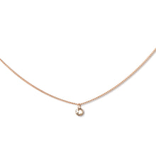 Floating Champagne Diamond Pendant