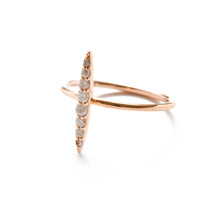 Ice Diamond Petite Spear Ring