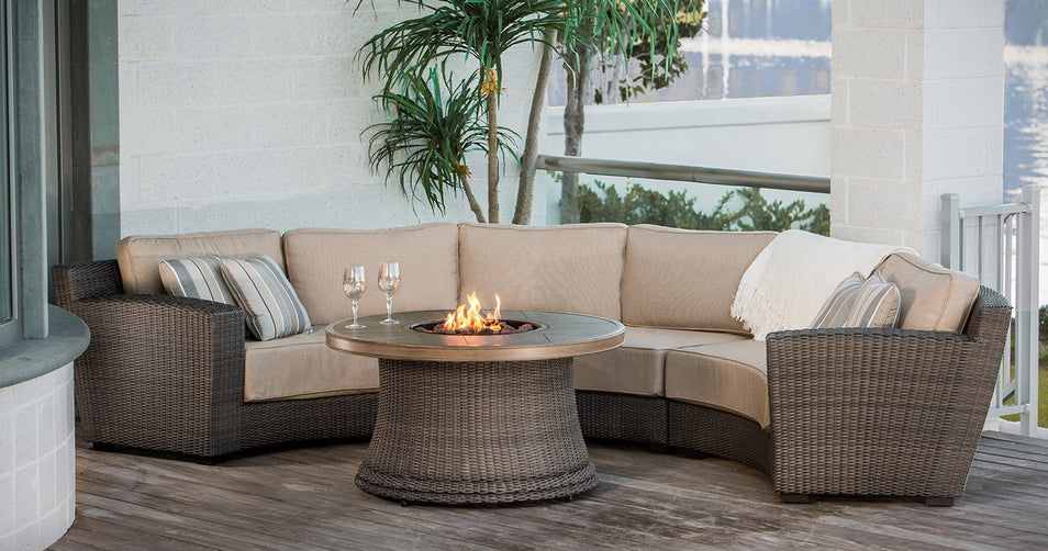 Brighten Your Evenings with an Agio Fire Pit