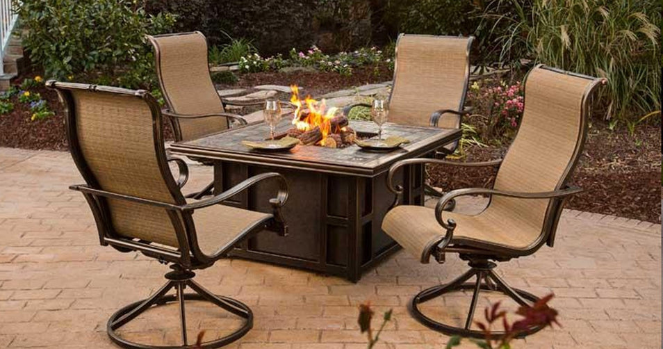 Do It Yourself with an Agio Fire Pit Design