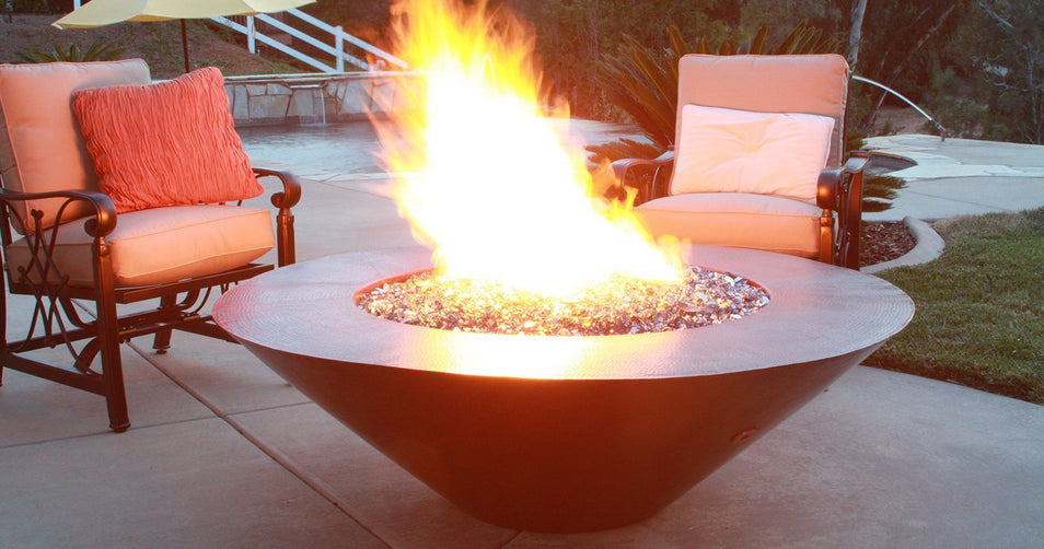 Fire Pits Can Warm Up Outdoor Spaces