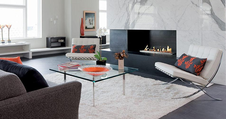 Modern Fireplaces to Fit Everyone
