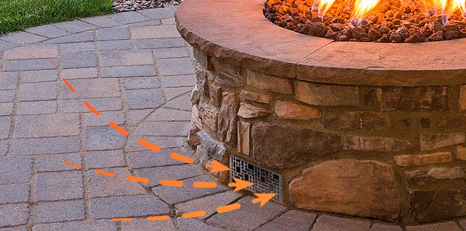 Why Does My Fire Pit Need to Be Vented?