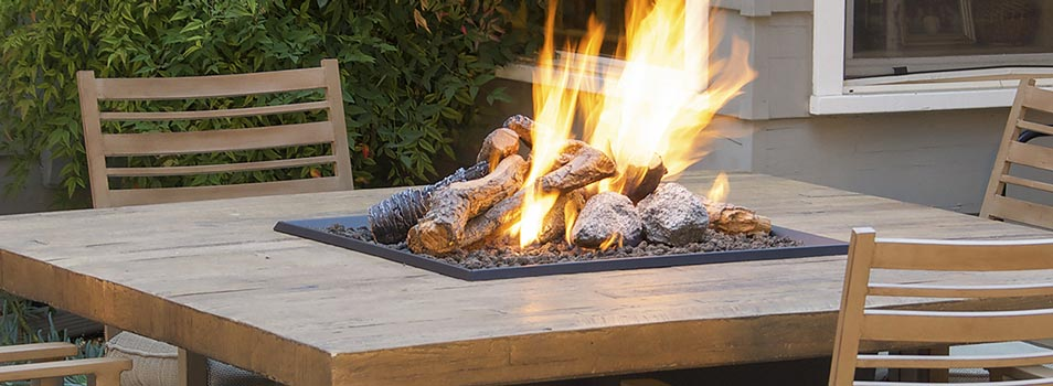 Gas logs by American Fyre Designs