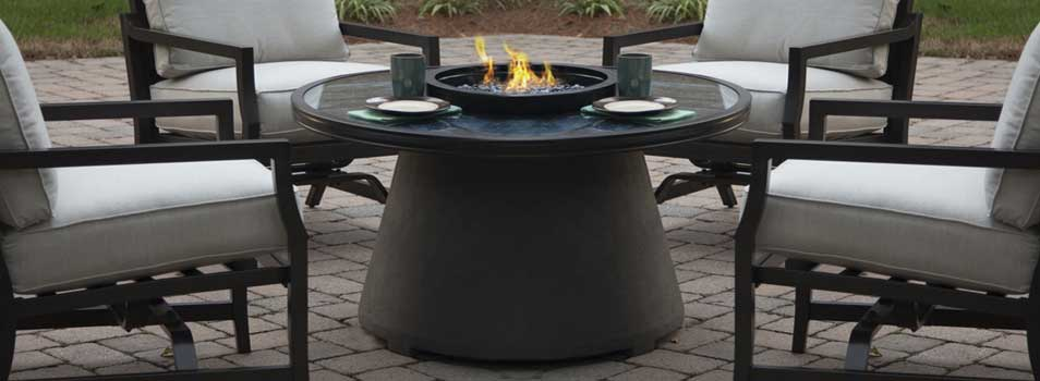Agio Mystique Propane Gas Fire Pit at Starfire Direct