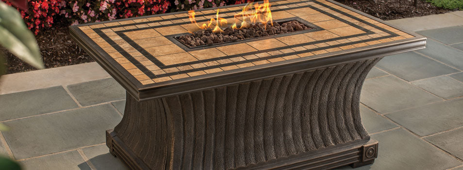 Agio Tuscan Gas Fire Pit