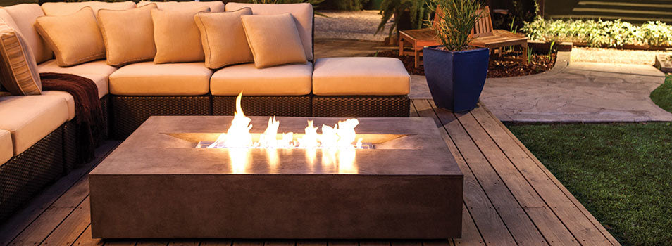 Flo Outdoor Fire Pit by Brown Jordan Fires
