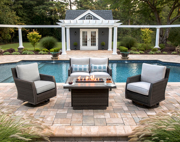 Fire pits and tables for every outdoor patio