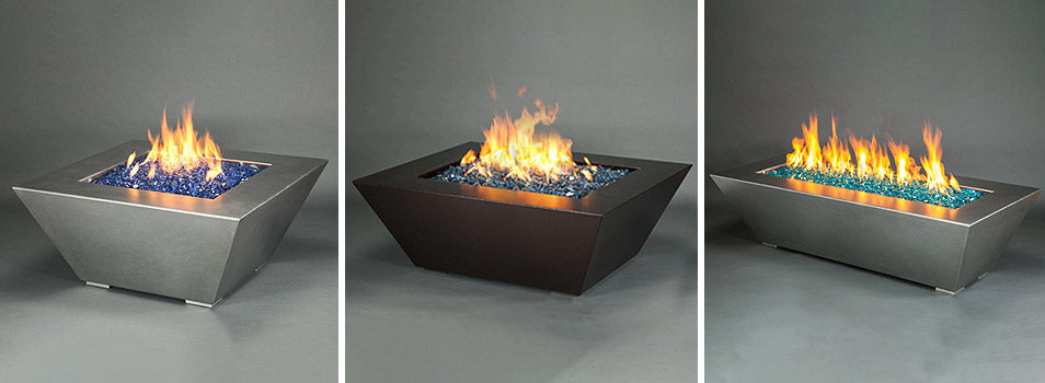 Mill and Edge Series Fire Pits