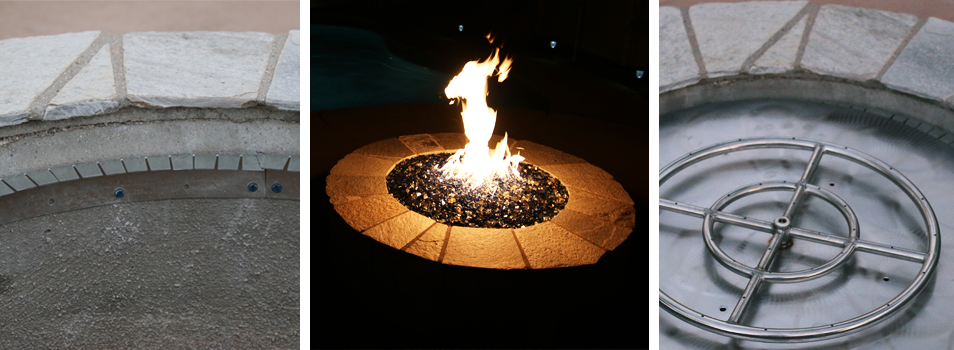 Starfire Designs Form Fitting Fire Pit Ledge