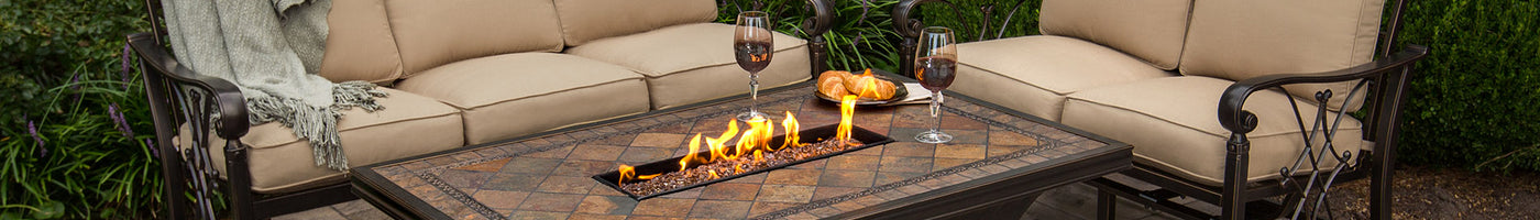 Agio Collection Agio Fire Pits Fire Pit Tables