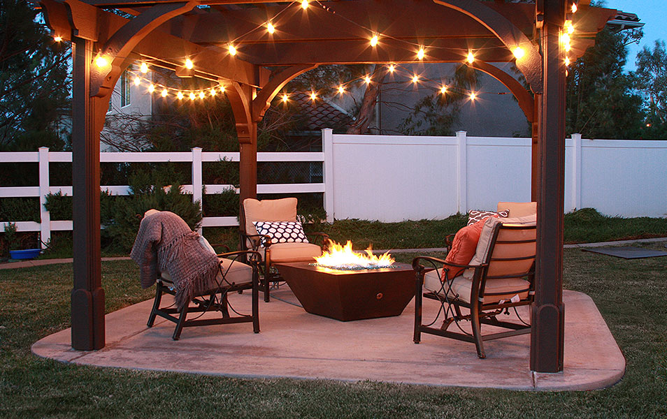 10' Copper Spartan Fire Pit by Starfire Designs® - Fire Pits Gallery
