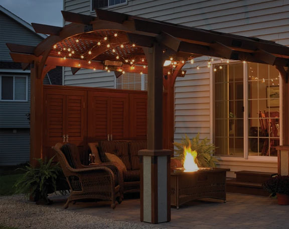 Create an Outdoor Room with a Pergola