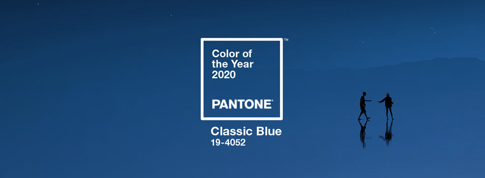 Pantone's Classic Blue as the Color of the Year for 2020
