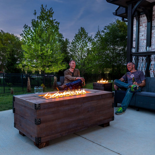 12th South Trunk Music Responsive Fire Pit