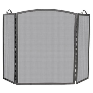 3 Panel Olde World Iron Screen Arch - Large - Starfire Direct