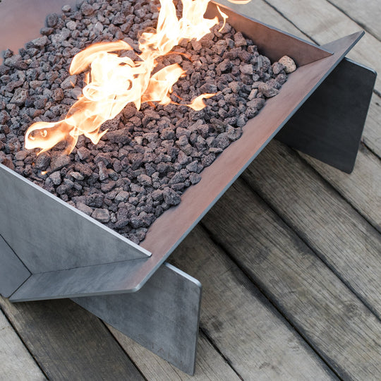 "30"" Stahl Gas Fire Pit - Propane - Starfire Direct"