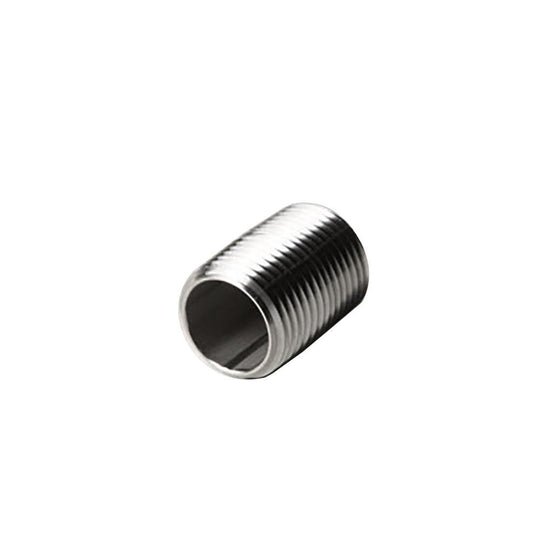 "304 Stainless Steel 1/2"" x Close Pipe Nipple - Starfire Direct"