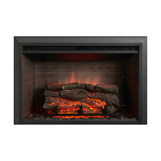 "32"" Electric Zero Clearance Fireplace Insert - Starfire Direct"