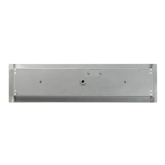 "36"" x 6""  Stainless Steel Linear Channel Drop-In Pan with Spark Ignition Kit - Propane - Starfire Direct"