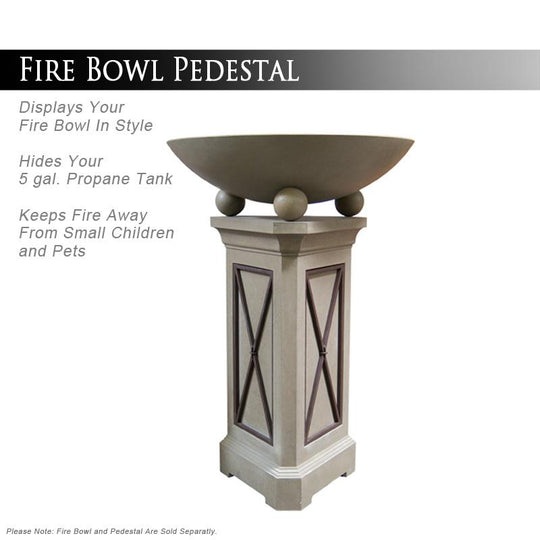 "40"" Marseille Fire Bowl - Starfire Direct"