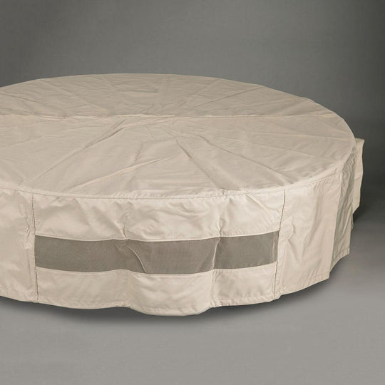 "48"" Round Fabric Fire Pit Cover - Starfire Direct"