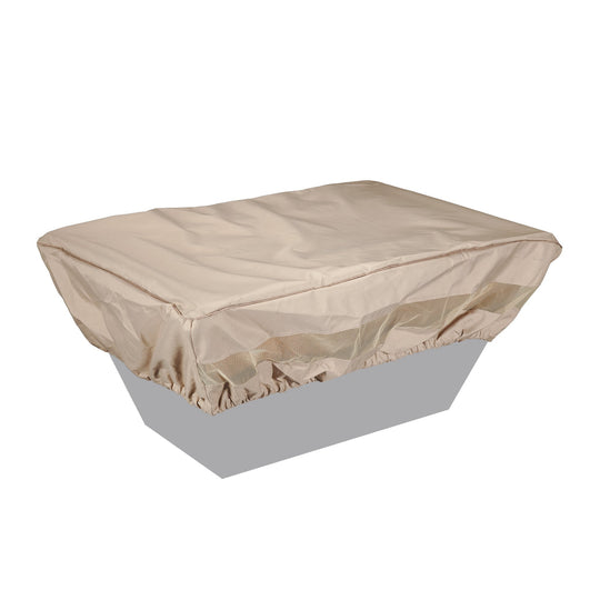 "48"" x 32"" Fabric Rectangle Fire Pit Cover - Starfire Direct"