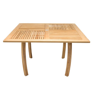 "50"" Square Dolphin Teak Table - Starfire Direct"