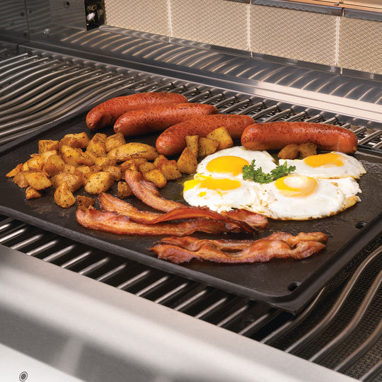 Napoleon Cast Iron Reversible Griddle for Medium Grills - Starfire Direct