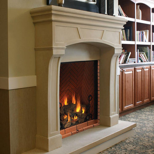 "57"" Manhattan Fireplace Mantel"
