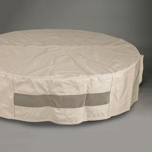 "60"" Round Fabric Fire Pit Cover - Starfire Direct"