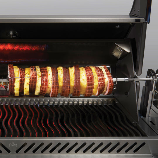 Napoleon Commercial Grade Rotisserie Kit for Large Grills - Starfire Direct