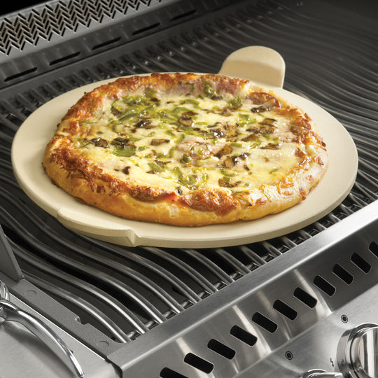 Napoleon PRO Pizza Stone with Pizza Wheel - Starfire Direct