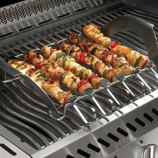 Napoleon PRO Pizza Stone with Skewers and Rack - Starfire Direct