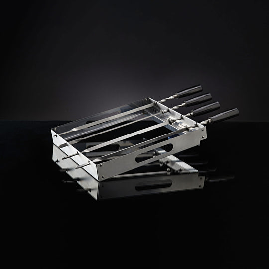 Napoleon PRO Series Stainless Steel Rotating Skewer Rack - Starfire Direct
