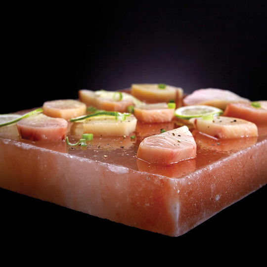 Napoleon Himalayan Salt Block with PRO Grill Topper - Starfire Direct