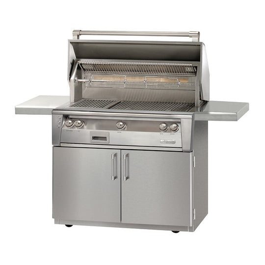 "Alfresco 42"" ALXE Portable Gas Grill with Standard Storage"