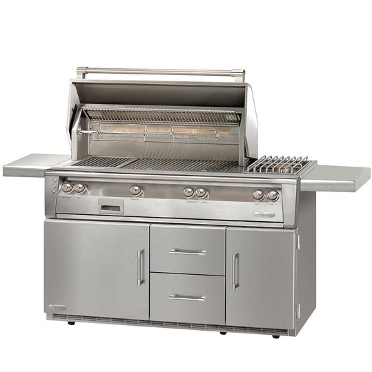 "Alfresco 56"" ALXE Deluxe Portable Gas Grill with Cold Storage"