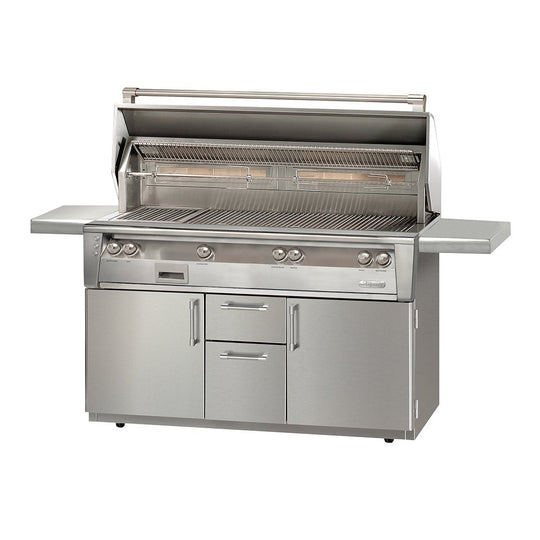 "Alfresco 56"" ALXE Portable Gas Grill with Deluxe Storage"