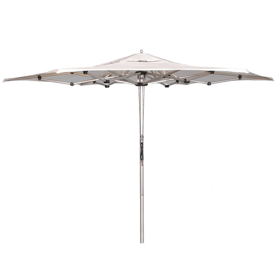 ARTiculatedshade Aspen 11' Hexagon Sunbrella Canvas Umbrella