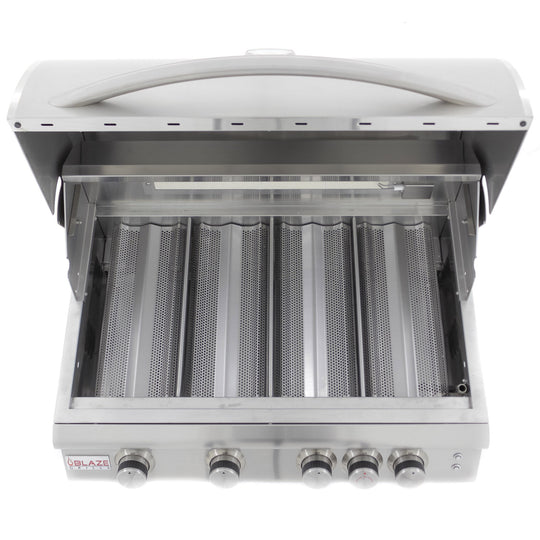 Blaze 4 Burner LTE Grill with Built-In Lights