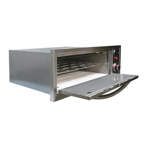 Cal Flame 2-in-1 Pizza Oven and Food Warmer