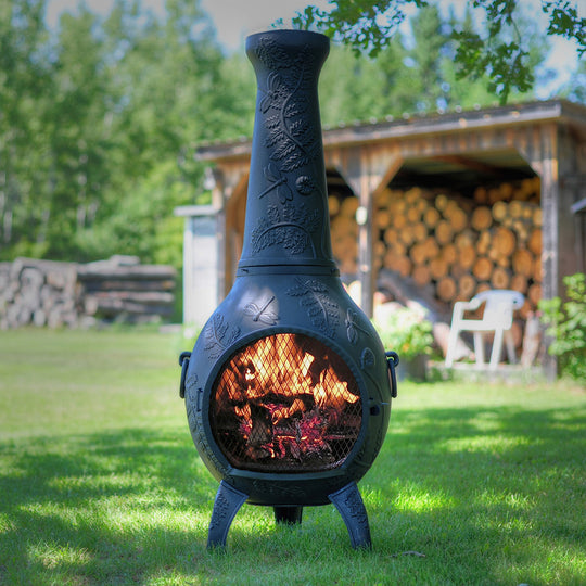 Nice Dragonfly Gas Chiminea