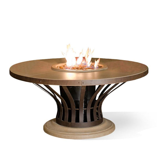 Fiesta Dining Fire Table