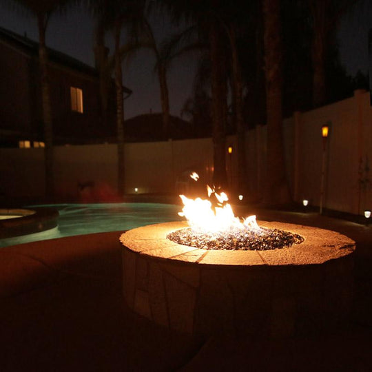 Form Fitting Fire Pit Ledge - Starfire Direct
