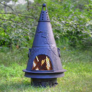 Garden Gas Chiminea