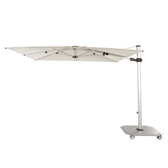 Jardinico 10' Square 301 Series Sidepost Crank Lift Umbrella