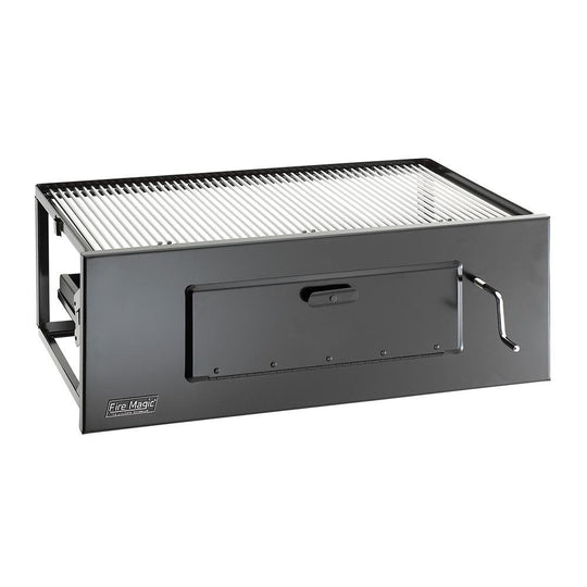 Lift-A-Fire Built-In Charcoal Grill - Starfire Direct