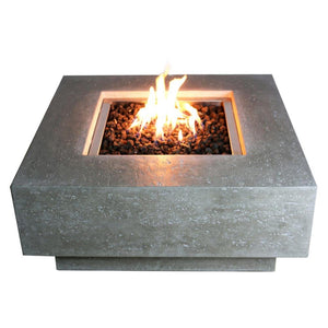 Manhattan Concrete Fire Table - Starfire Direct